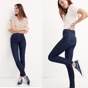 """Madewell 10"""" High Rise Skinny in Lucille"""